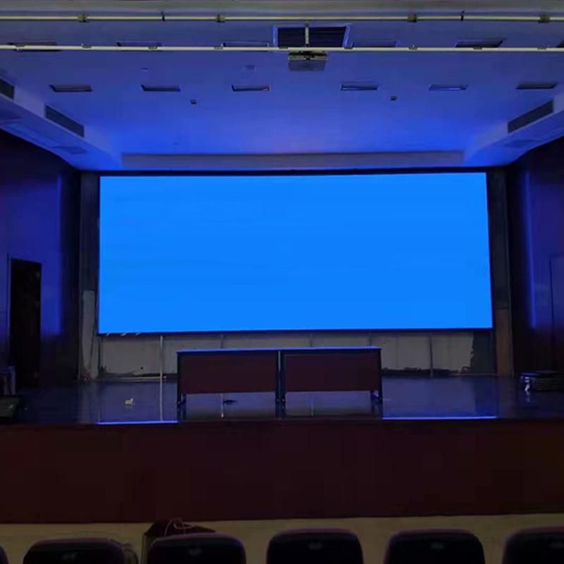 江苏某影院Led显示屏安装完成