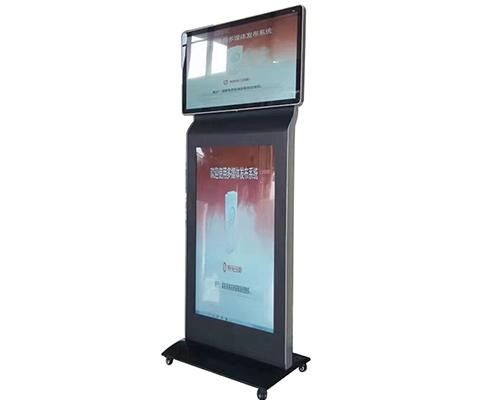 双屏广告机