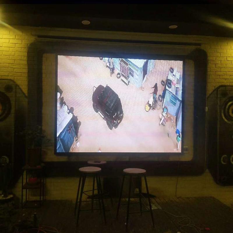 银川市某咖啡馆LED电子屏