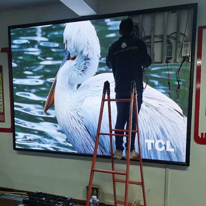 同心某电视台室内led显示屏