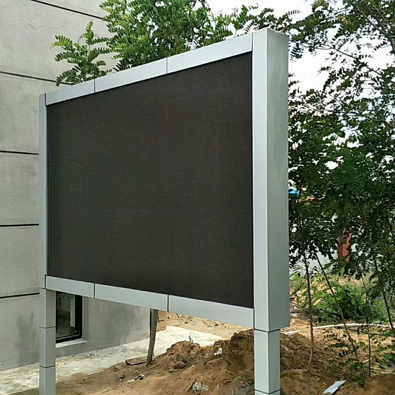 户外led显示屏安装