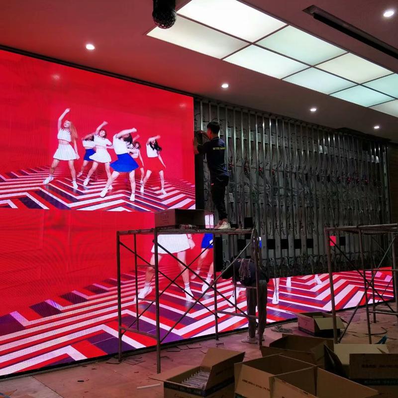宁夏某集团教育学院室内led显示屏